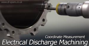 electrical discharge machining coordinate measurement (CMM)