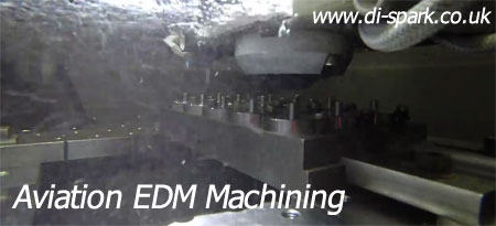 aviation edm machining wire edm