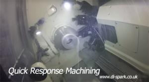 quick response machining shot