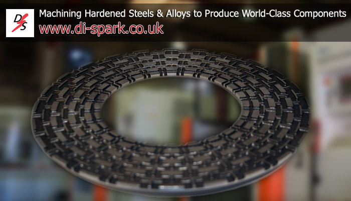 Machining hardened steels and components