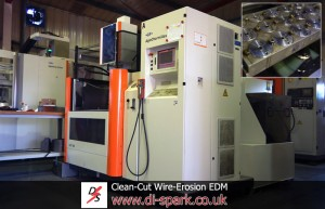 Cleancut Precision EDM Machining - Cut 300