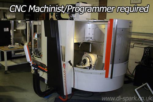 CNC Machinist Programmer