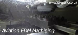 aviation High Volume EDM machining