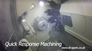 quick response machining shot